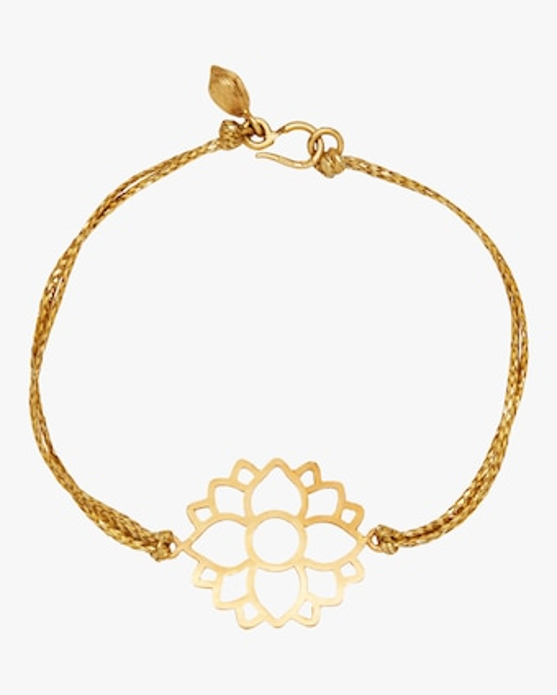 Lotus Cord Bracelet