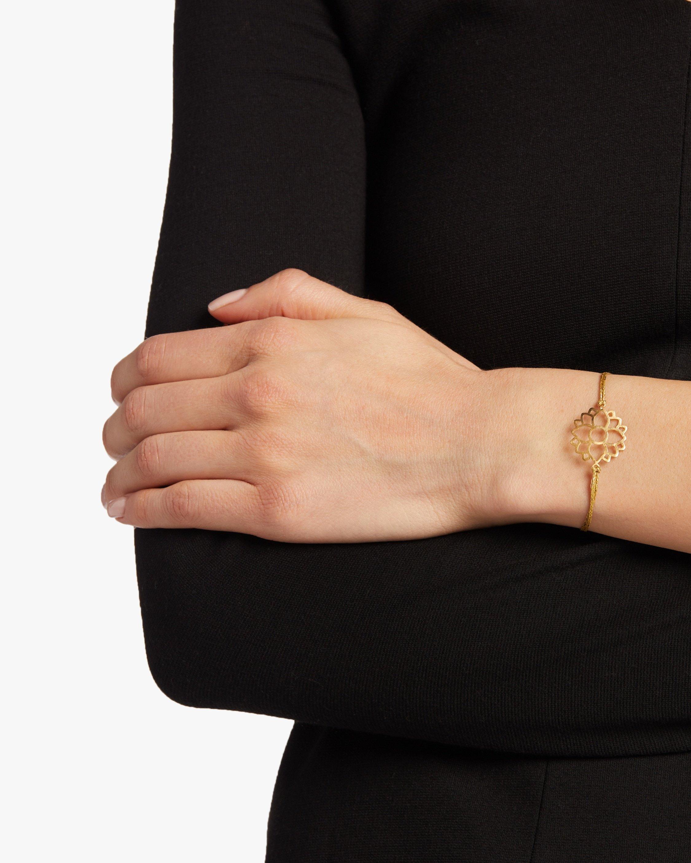 Pippa Small Lotus Cord Bracelet 1