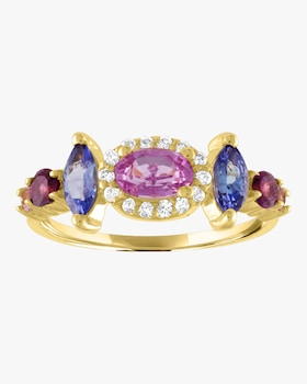 Oval Marquise Color Ring