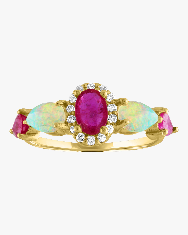 Eden Presley Oval Pear Color Ring 0