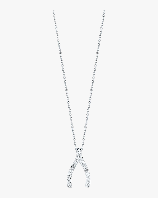 Roberto Coin Wishbone Necklace 1