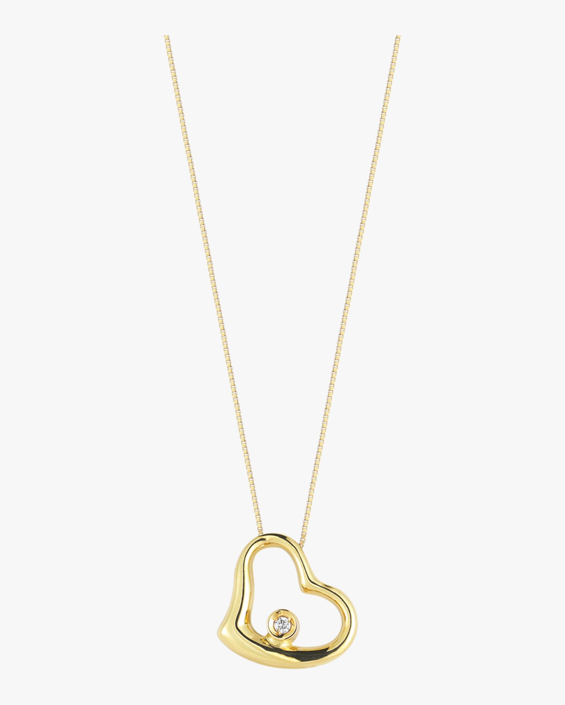 Roberto Coin Baby Diamond Heart Necklace 1
