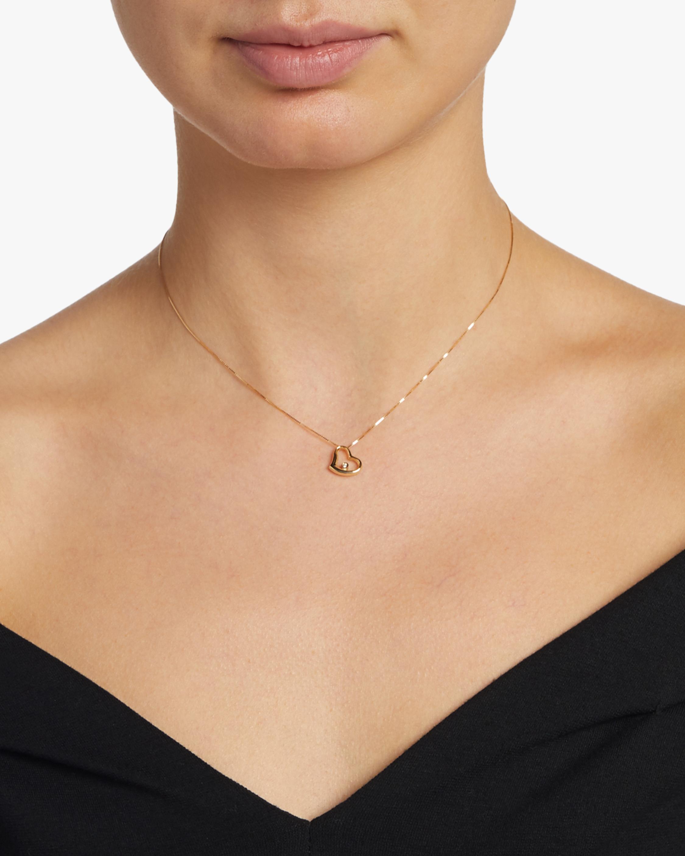 Roberto Coin Baby Diamond Heart Necklace 2