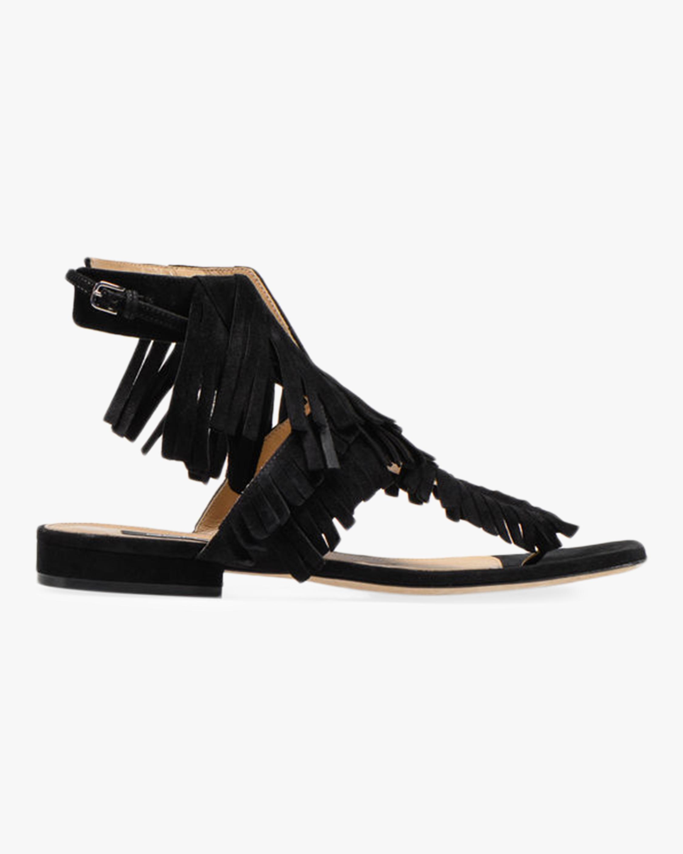 Milano Fringe Flat Sandal