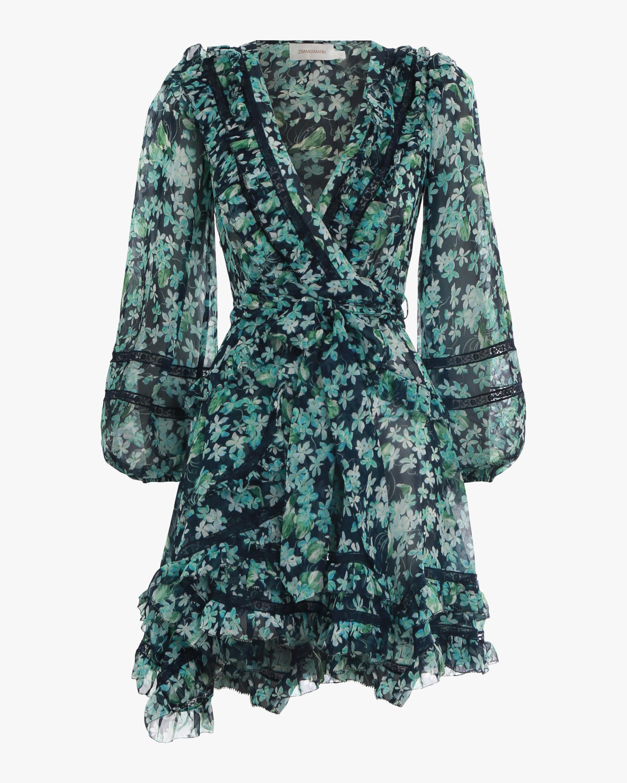 Moncur Wrap Mini Dress