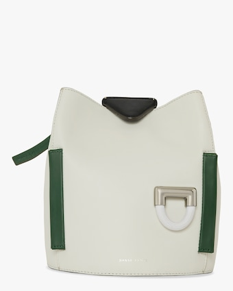 Danse Lente Josh Leather Top Handle Bag 1