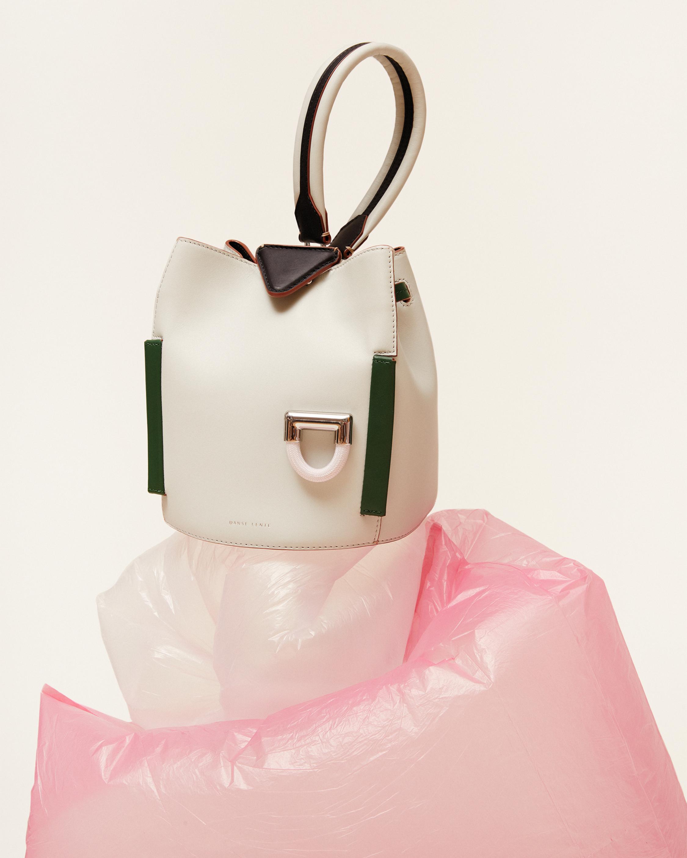 Josh Leather Top Handle Bag