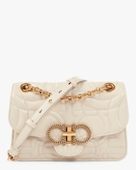 Salvatore Ferragamo Gancini Quilted Bag 0
