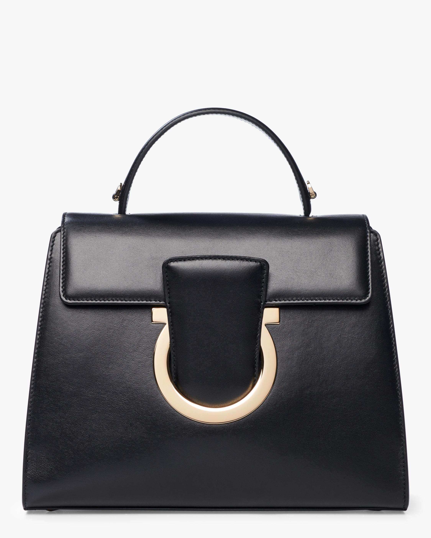 Gancini Top Handle Bag