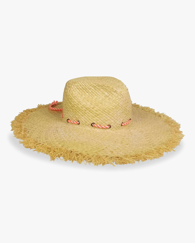 Drawstring Frayed Rancher Hat
