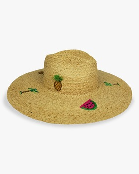 Tropical Party Continental Hat