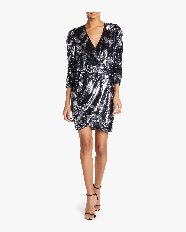 Sequin Camo Zoey Dress