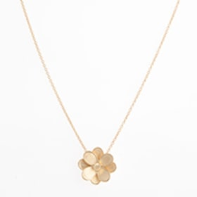 Petali Small Flower Pendant Necklace