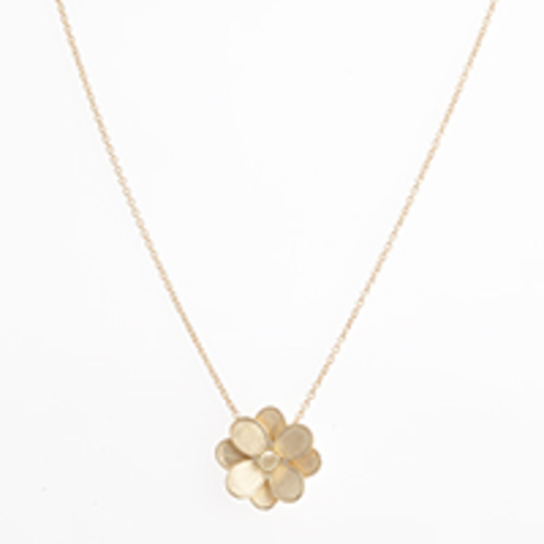 Petali Small Flower Pendant Necklace