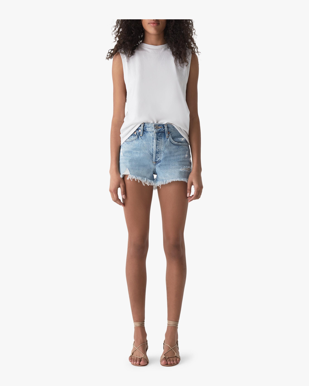 Parker Vintage Loose Cut-Off Shorts