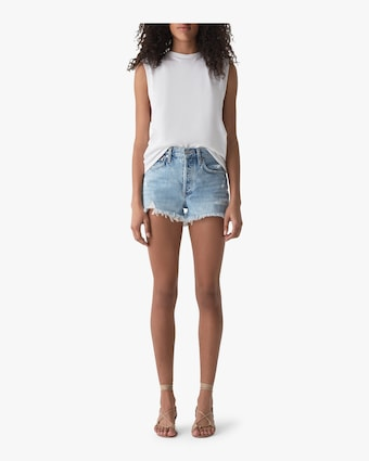 Parker Vintage Loose Cut-Off Shorts