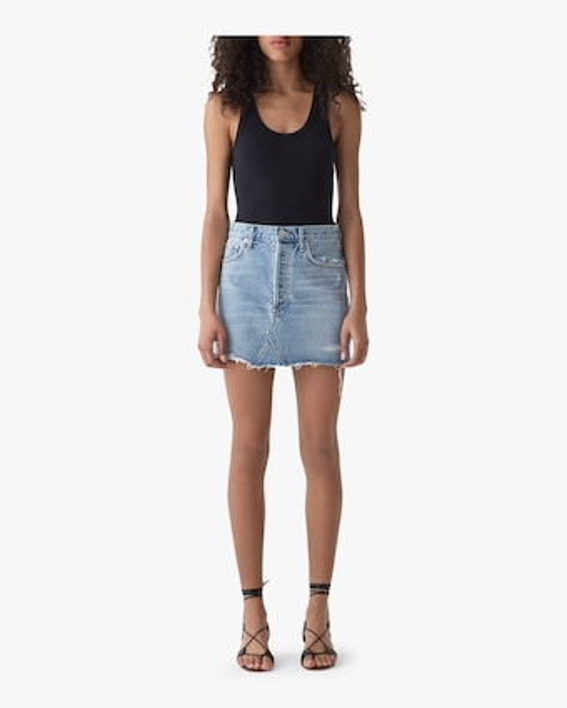 Quinn High-Rise Mini Skirt