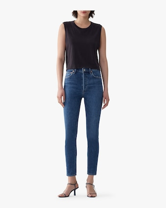 Nico High Rise Slim Fit Jeans