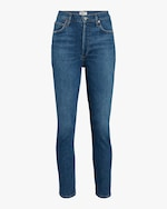 Agolde Nico High Rise Slim Fit Jeans 0
