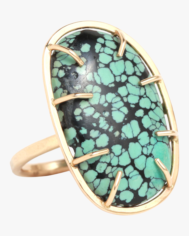 Turquoise Matrix Ring