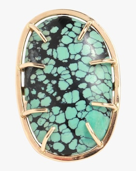 Turquoise Matrix Ring