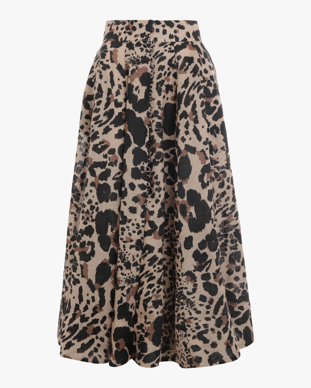 Veneto High Waisted Flare Skirt