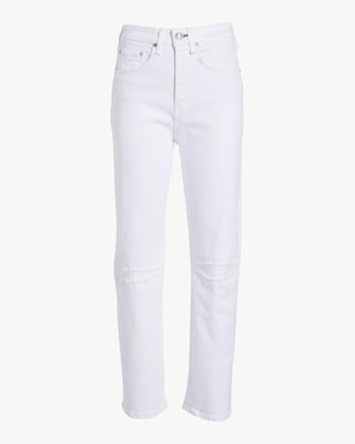 Maya High-Rise Ankle Straight Jean