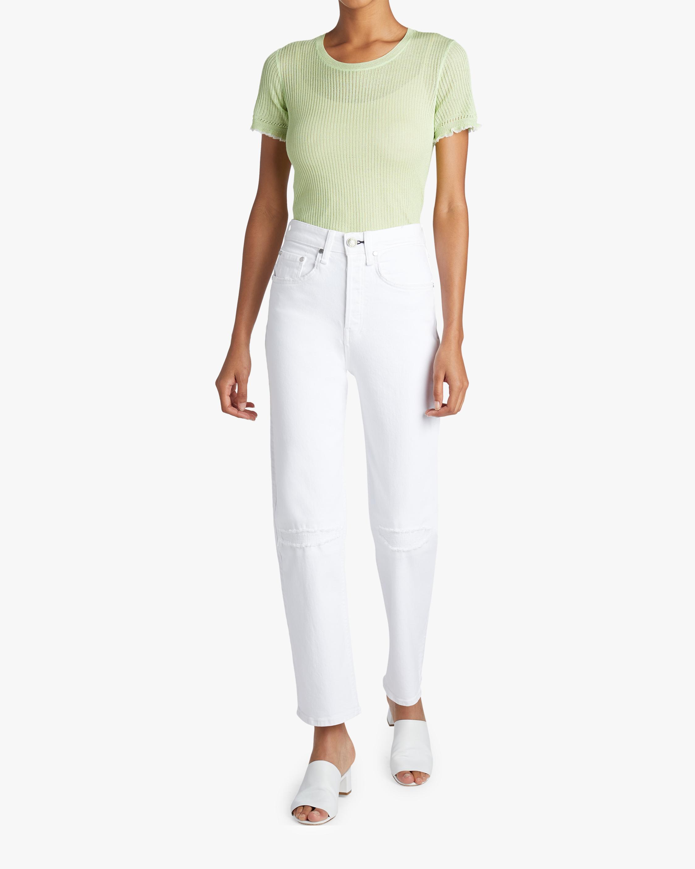 Maya High-Rise Ankle Straight Jean