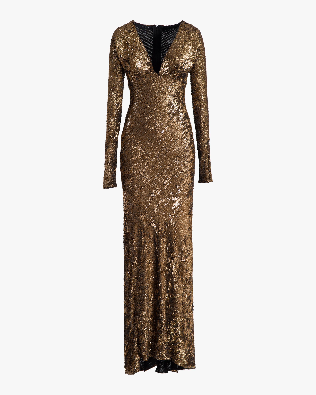 Maria Lucia Hohan Ailish Sequin Gown 0