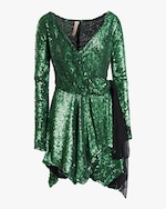 Maria Lucia Hohan Gallia Sequin Mini Dress 0