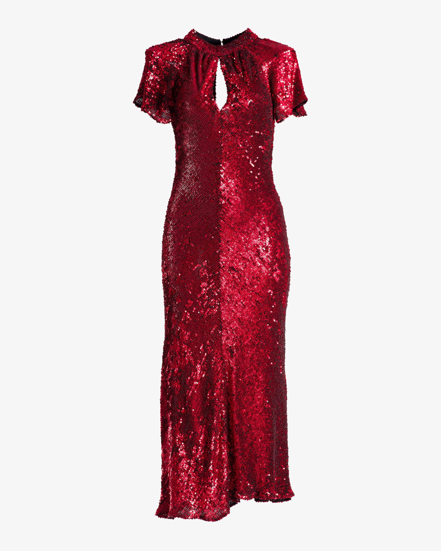 Maria Lucia Hohan Hanne Sequin Midi Dress 1