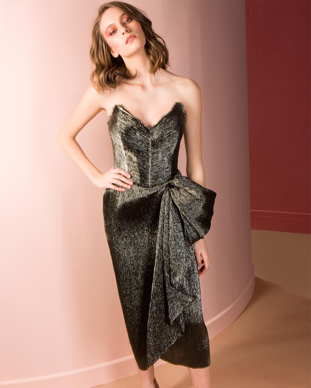 Marie Corset Midi Dress