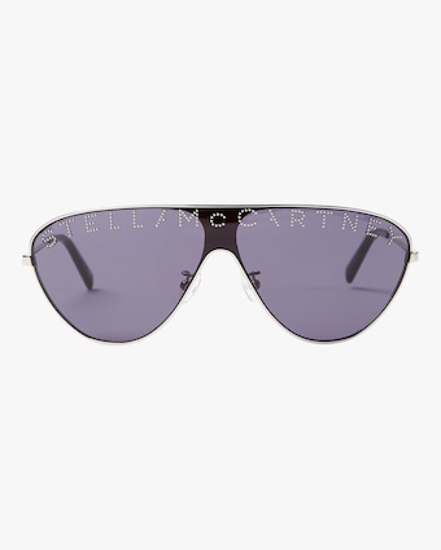 Logo Flat Top Sunglasses