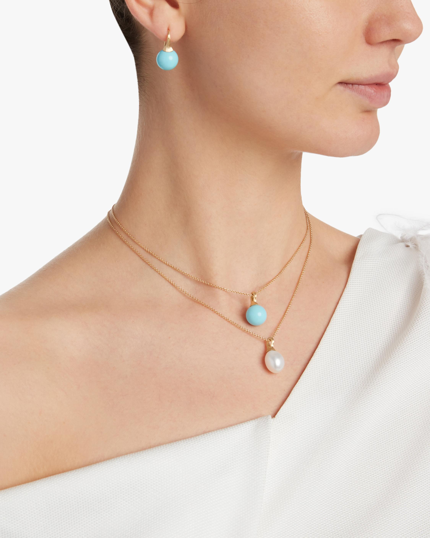 Africa Gemstone Turquoise Earrings