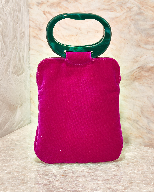 Edie Parker Velvet Grab Bag 0