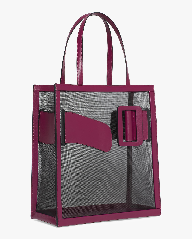 Mesh Frame Tote Bag