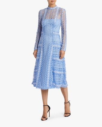 Bamboo Lace Midi Dress