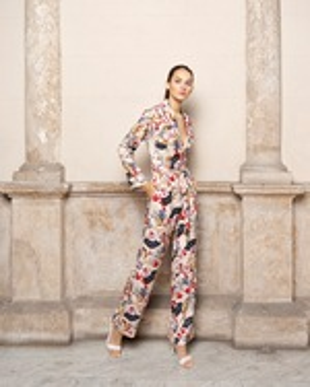 Adriana Iglesias Theodore Long Sleeve Jumpsuit 0