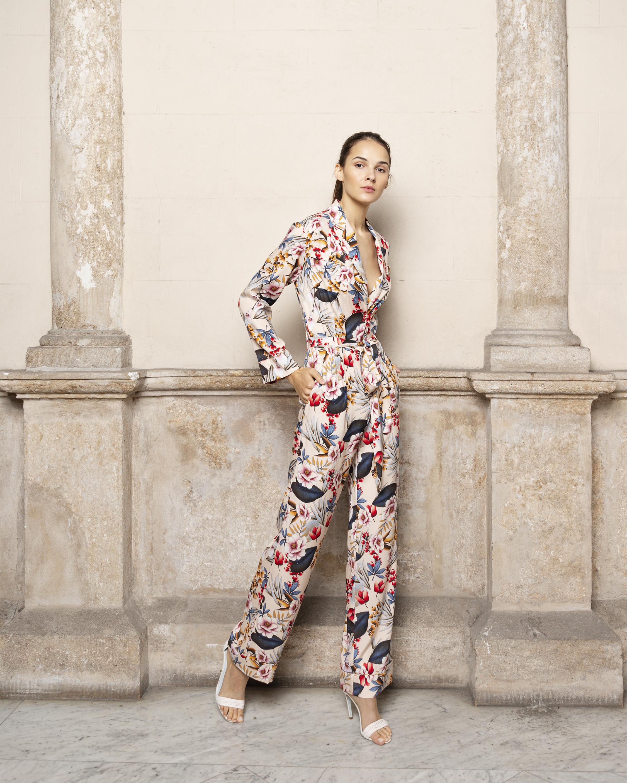 Adriana Iglesias Theodore Long Sleeve Jumpsuit 2
