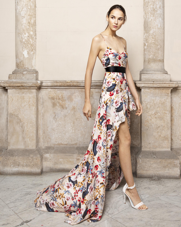 Anta Asymmetrical Maxi Dress