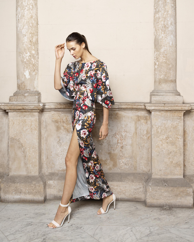 Adriana Iglesias Taylor Maxi Dress 2