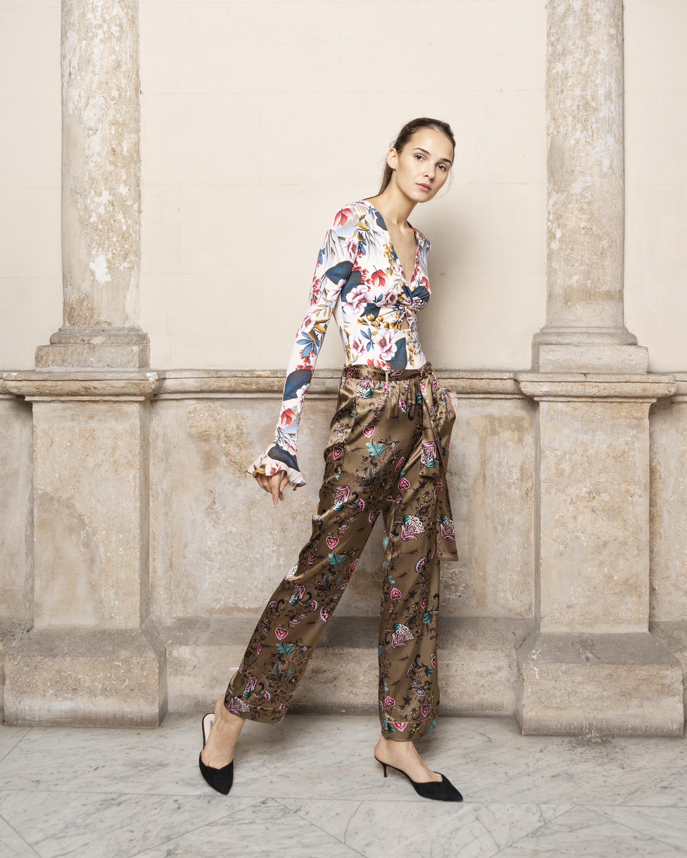 Adriana Iglesias Lola Long Sleeve Bodysuit 0