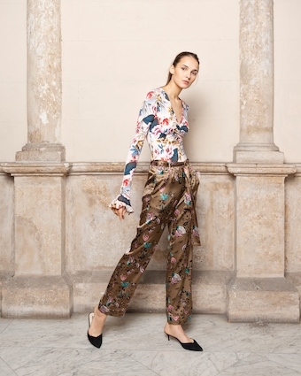 Alessia Belted PJ Pants