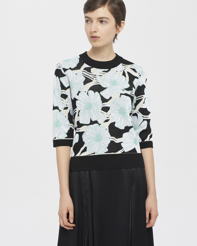 Jacquard Knit Shirt