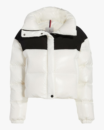 Nil Two-Tone Quilted Puffer Jacket