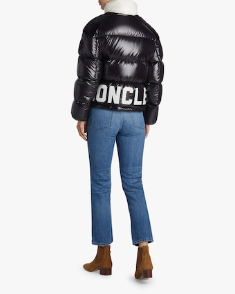 Chouette Logo Quilted Puffer Jacket