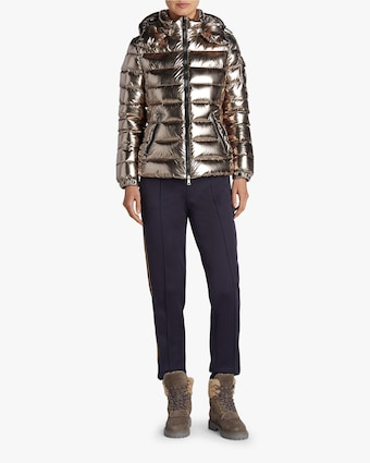 Bady Metallic Quilted Puffer Jacket