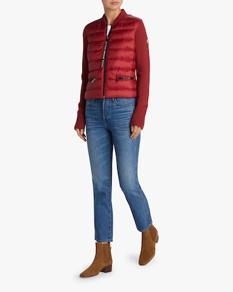 Maglione Tricot Padded Cardigan