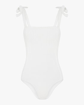 Sonnet Pintucked One Piece Swimsuit