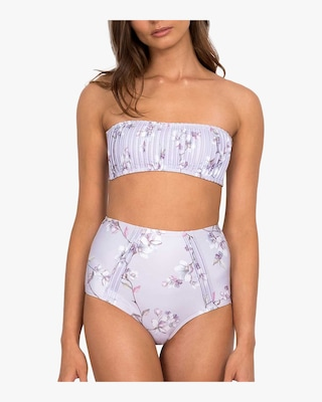 Blossom Pintucked Hi Bikini Bottom